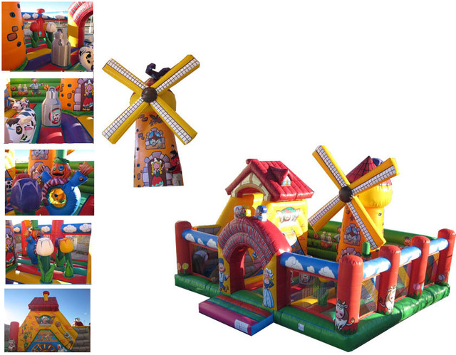 (China Guangzhou) manufacturers selling inflatable slides, inflatable castles,nflatable bouncer COB-105