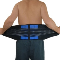 Men Women Lower Back Lumbar Waist Support Belt Pain Relief Brace Posture Trimmer