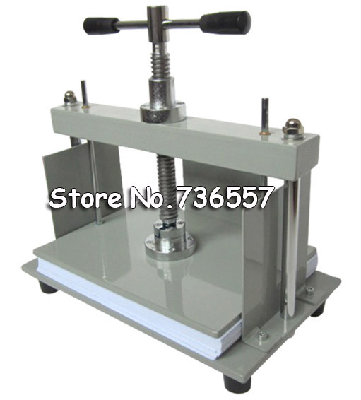 1PC A4 size Manual flat paper press machine for photo books, invoices, checks, booklets, Nipping machine a4 size manual flat paper press machine for photo books invoices checks booklets nipping machine