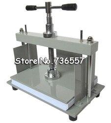 Máquina de prensa de papel plano Manual de tamaño A4 1 unidad para libros de fotos, facturas, cheques, folletos, máquina de Nipping
