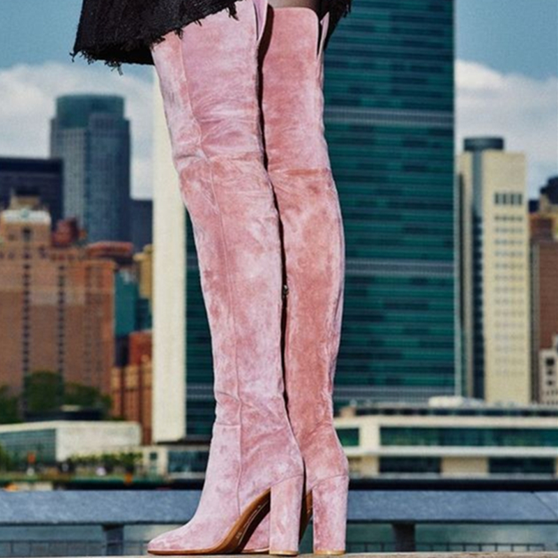 Popular Pink Thigh High Boots-Buy Cheap Pink Thigh High Boots lots ...