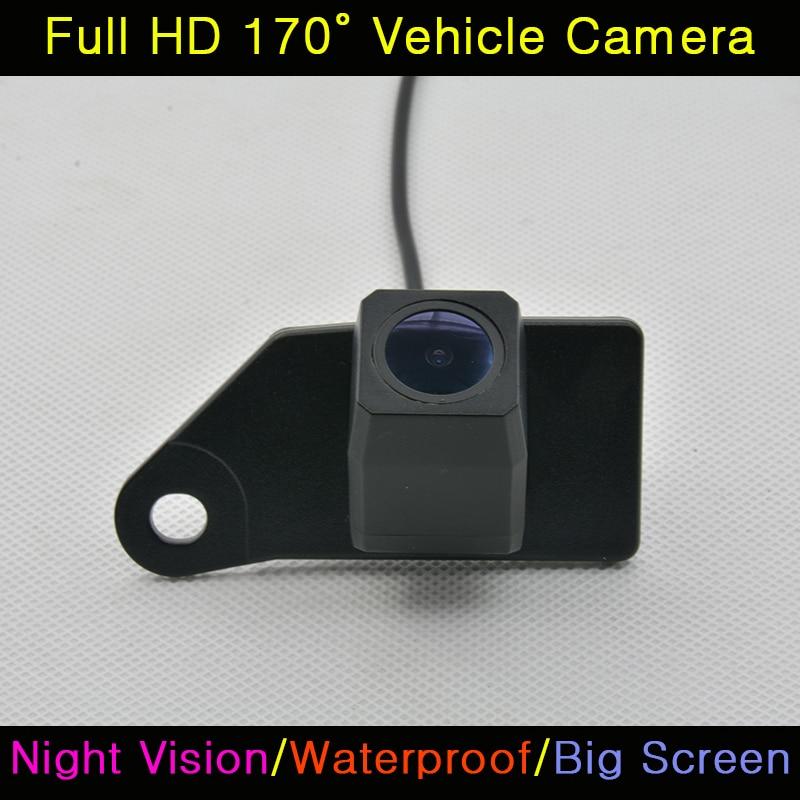 imágenes para Del coche del CCD HD 520 TV Retrovisor Visión Nocturna de Visión Trasera de Copia de seguridad Impermeable Cámara de marcha atrás Para Mitsubishi RVR ASX 2011 2012 2013 2014