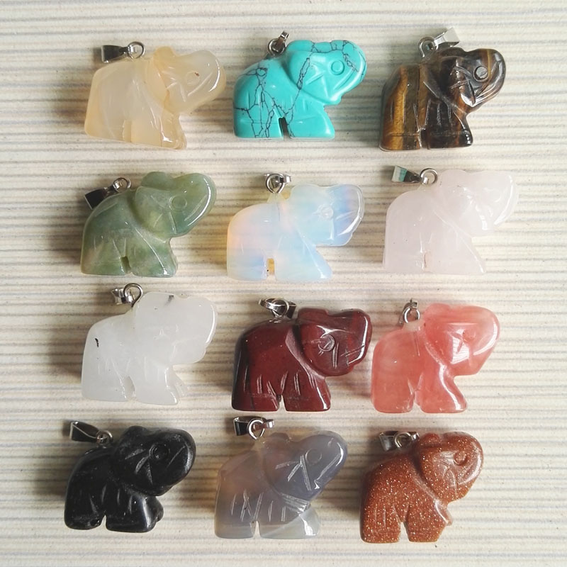 Natural Stone Pendants Selling natural stone pendants necklace elephant selling natural stone pendants necklace audiocablefo