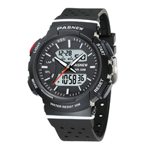PASNEW analog digital watches with Japan movement for teenagers Casual Fashion Waterproof 30M Sport wrist Watch PSE-470