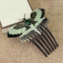 Vintage Titanic mariposa peines encantos horquillas de animales peines accesorios mujer novia joyería regalo
