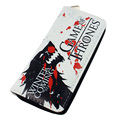 Game of Thrones wallet Zip Pu long wallet anime fashion purse
