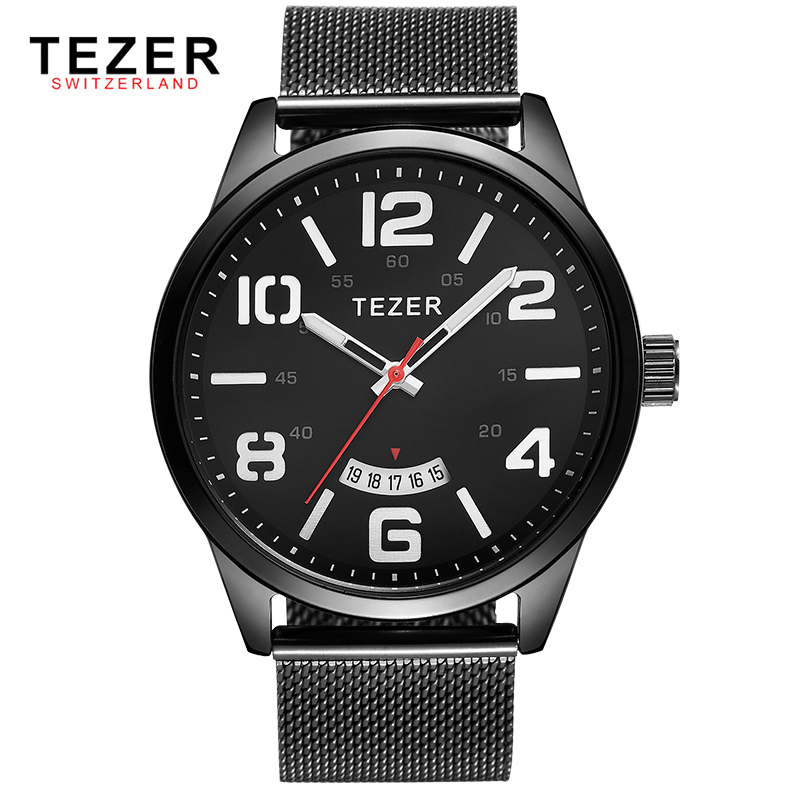 TEZER brand font b watches b font men sports font b watch b font business multi