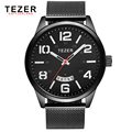 TEZER brand watches men sports watch business multi function quartz waterproof relogio masculino T5024