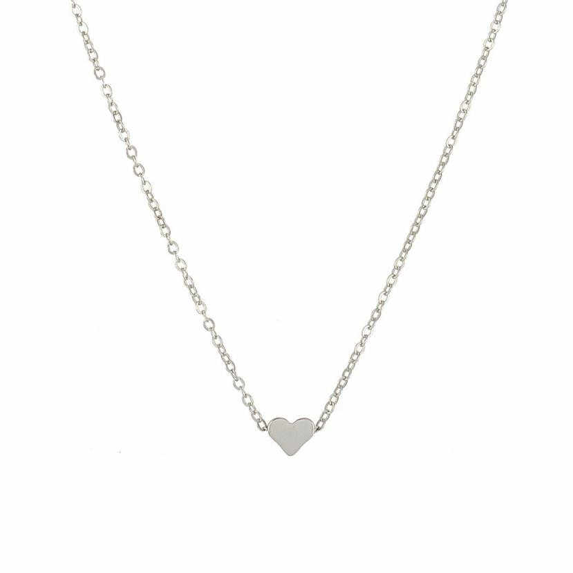 バレンタインのギフトの宝石古典的なスタイリッシュなエレガントな魅力的なクリスタルハートのネックレスロマンチックなラインストーン
