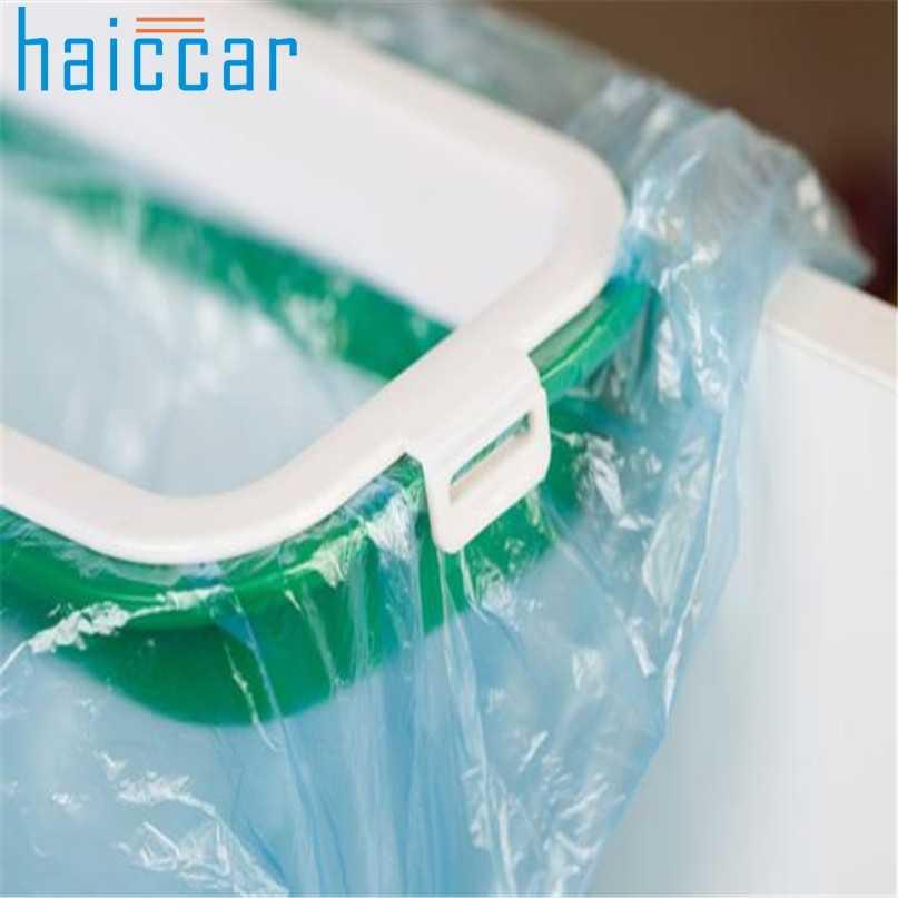 جديد HAICAR معلقة باب خزانة المطبخ نمط جديد القمامة حامل أكياس تخزين القمامة رف m10
