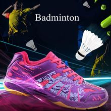 Badminton Shoes Men Women Professional Training Sport Shoes Breathable Shock-Absorbant Light Cushion Sneakers Men Unisex Shoes li ning women s professional cushion badminton training shoes breathable sneakers lining double jacquard sports shoes aytm078