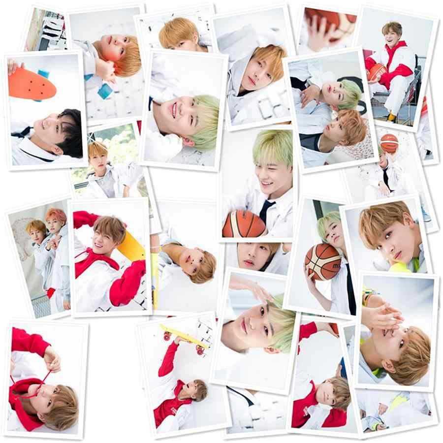 Kpop NCT DREAM WE GO UP Polaroid Lomo Photo Cards Jisung Mark Renjun HD  Photocard 40pcs/set Poster