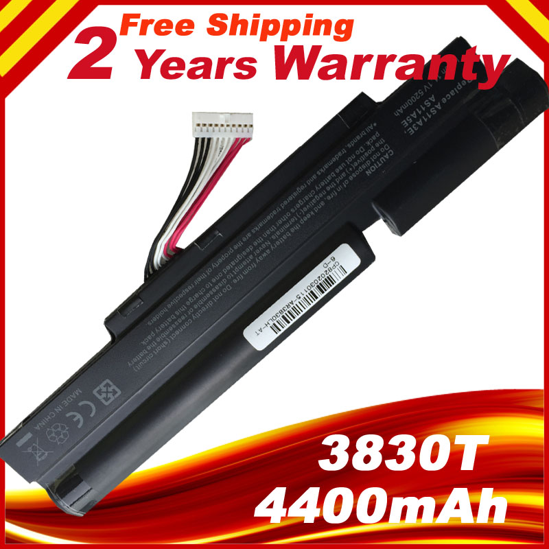 4400mAh Laptop <font><b>battery</b></font> for <font><b>Acer</b></font> <font><b>Aspire</b></font> TimelineX 4830T 5830T <font><b>5830TG</b></font> 4830TG 3INR18/65-2 AS11A3E AS11A5E image