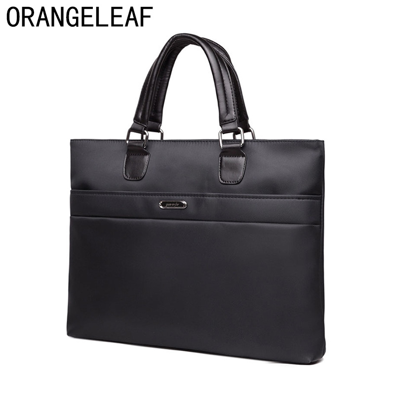 Business Men Briefcase Bag Nylon Oxford Black Blue Luxury Designer Laptop Bag Office Large Capacity Briefcase