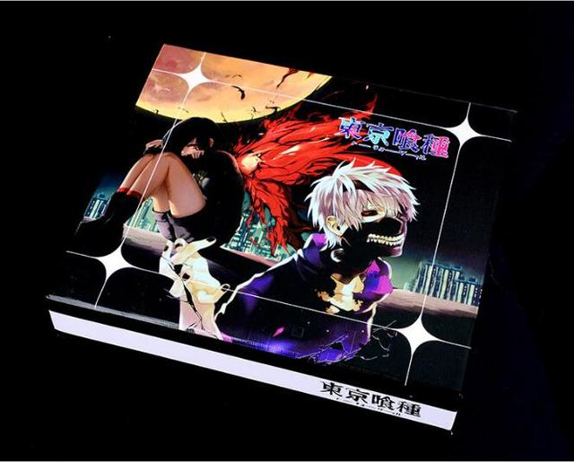 5pcs/set Tokyo Ghoul sword Metal Key Chain Pendant Toys