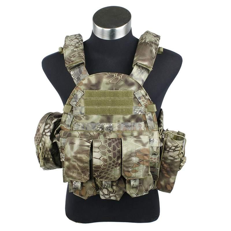 Neutral Waterproof Protective Tactical Vest Outdoor CS Equipment Seal 97 Wholesale
