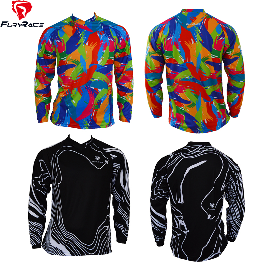 Fury Race High Quality Downhill Jerseys MTB Jersey Custom BMX Motocross  Bike Jersey Motorcycle DH Ride Shirts Men Women Clothing-in Cycling Jerseys  from ... bb4f65841