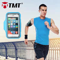 TMT PU Water Resistant Sport Armband Cover Fingerprint ID Access for iPhone 4.7 in/5.5 in with Adjustable Band for Running Hikin