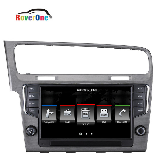 pour vw golf 7 mk7 vii 2014 2017 pour volkswagen mib original syst me autoradio gps navigation. Black Bedroom Furniture Sets. Home Design Ideas