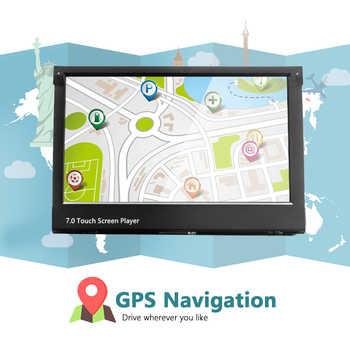 "Podofo 10.1\"" 1 din Android Multimedia player wifi Car Radio Stereo GPS Navigation Autoradio Universal CD/DVD Player FM AM USB"