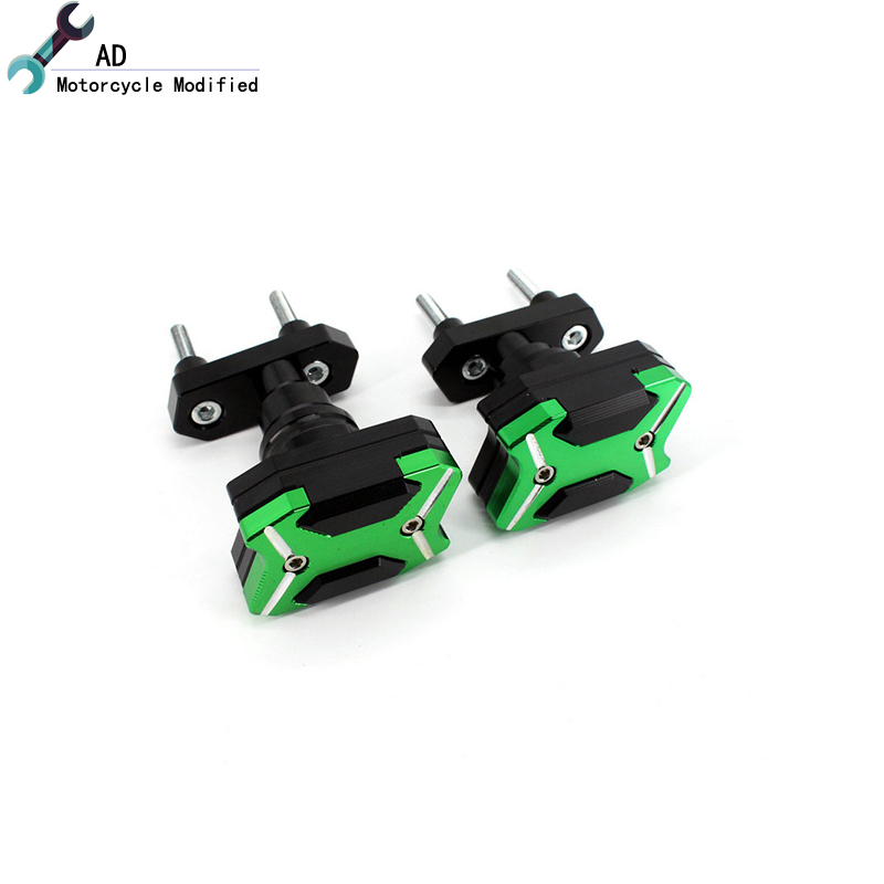 AD For Kawasaki Z800 Motorbike Parts Frame Sliders Engine Protector Motorcycle Accessories Anti Crash Pads Side Protection hot sale motorcycle accessories frame sliders crash protector fit for kawasaki z800 2013 2016