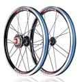Миало 16 дюймов внешний 3 скорости 9/13/17T складной велосипед колеса 16 дюймов сплав колеса BMX задние колеса