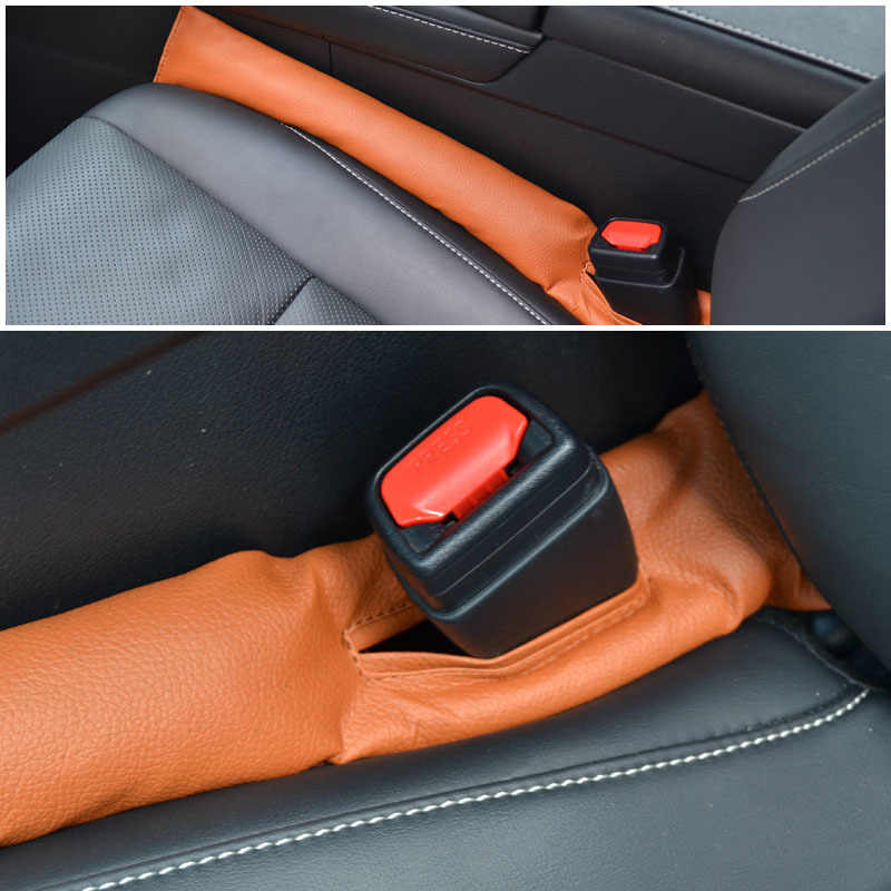 สำหรับ Renault MEGANE 2 2002-2008 Renault MODUS 2004-2007 1PC CAR SEAT GAP STOPPER STOP LEAK PROOF DROP PAD ARMREST FILLER SPACER