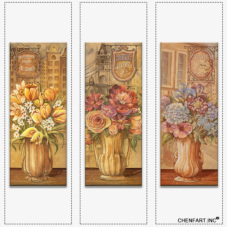 paintings on the wall art print on canvas flower in flowerpot wall art paintings for living