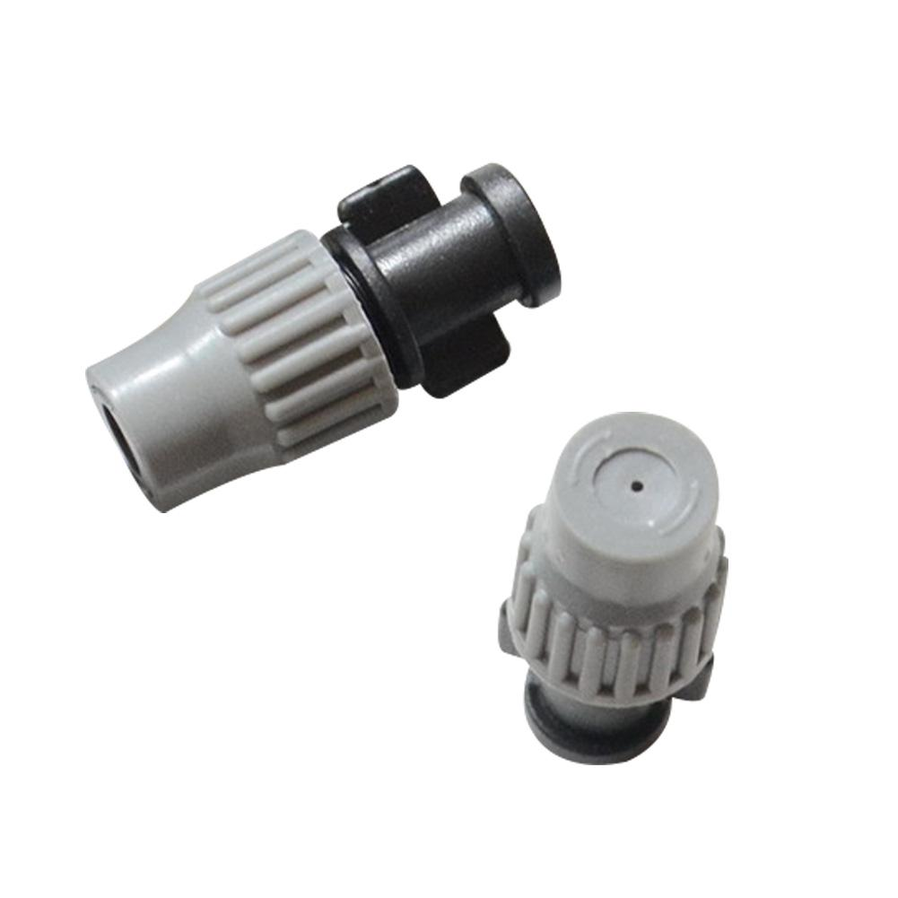 10 Pcs Adjustable Single Outlet Garden Irrigation Micro Spray Nozzles Garden Farm Watering Irrigation System Component