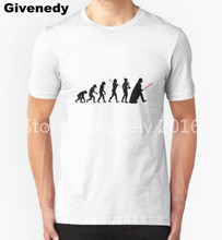 Darth Vader Evolution Men's Fashion T Shirt Print Marvel Comics Supper fitness men bodybuilding Hero Clothes Summer T shirt