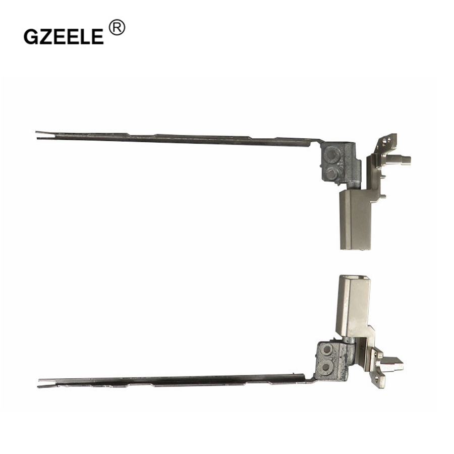 GZEELE New FOR Lenovo for thinkpad T430 t430i Hinge kit 04W6863 04W6864 0B41075 left& right screen axis set LAPTOP LCD HINGES gzeele new laptop lcd hinges bracket for lenovo ideapad u530 touch u530t for touch screen back cover hinges axis holder hinges