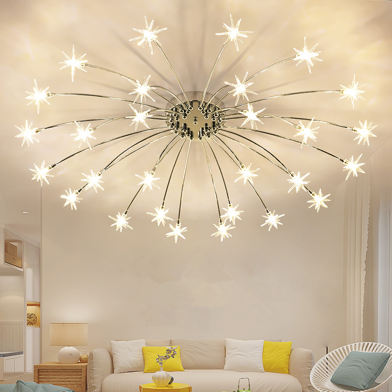 Modern Ceiling Lights Star LED Ceiling Lamps For Living Room luminaria Light Fixtures Surface Mounted Ceiling Lighting surface mount ceiling lights star shape for baby room romantic bedroom lamps luminaria ceiling lighting fixtures deckenleuch