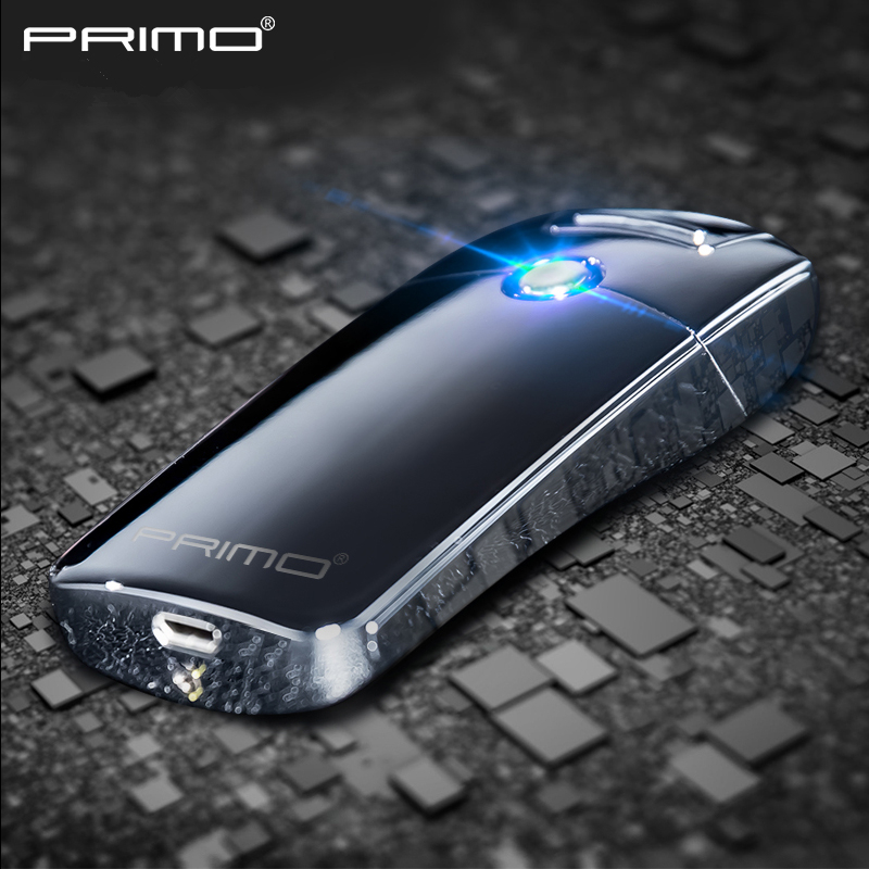 Pulsed Arc Slim Windproof cigarette cigar Personality primo Electronics usb cigarette plasma lighter with original box
