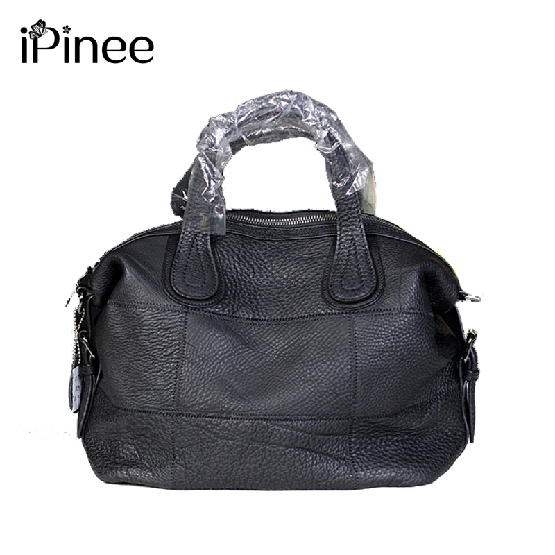 iPinee Famous Brand Women Genuine Leather Crossbody Bag Patchwork Cow Leather Women's Handbags Wholesale