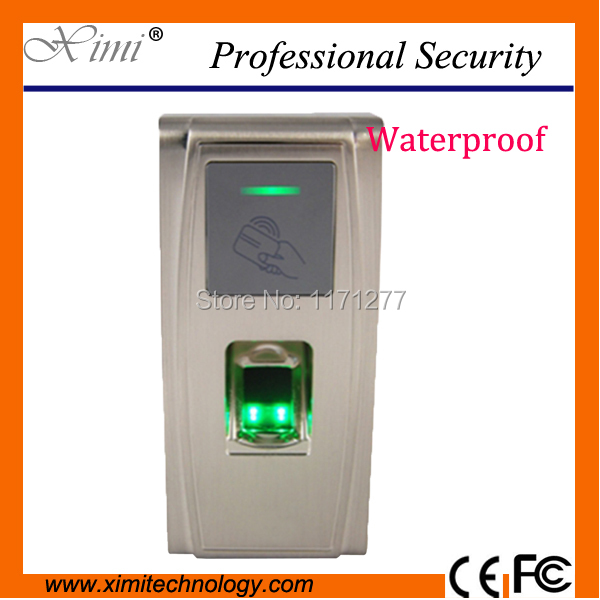 TCP/IP communication waterproof fingerprint reader MA300 rfid card reader time attendance record fingerprint access controller fingerprint rfid card reader keypad time attendance access control terminal usb tcp ip fast and reliable performance