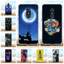 For Alcatel 1C Cover Ultra-slim Soft TPU Silicone 5009A 5009D Case Nice Girl Patterned Shell Capa