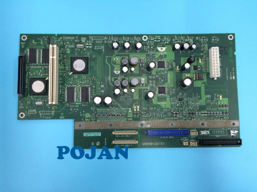 Q6659 20151 DesignJet Z2100 Z3100 PS Main PCA Control Board B0 24 Plotter parts Free shipping