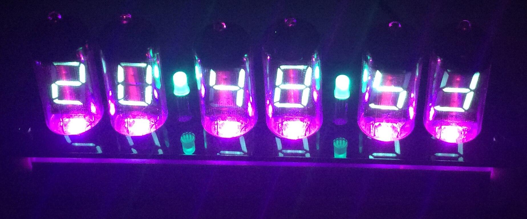 Патч оригинальные IV11 лампах часы DIY пакет VFD электронного флуоресцентные трубки вакуумный флуоресцентный Дисплей