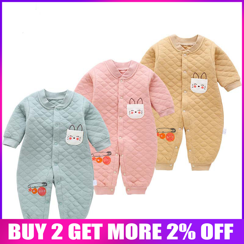 BibiCola autumn infant girls clothing cotton cartoon   rompers   clothing for toddle outfits newborn boys plaid jumpsuit baby wear