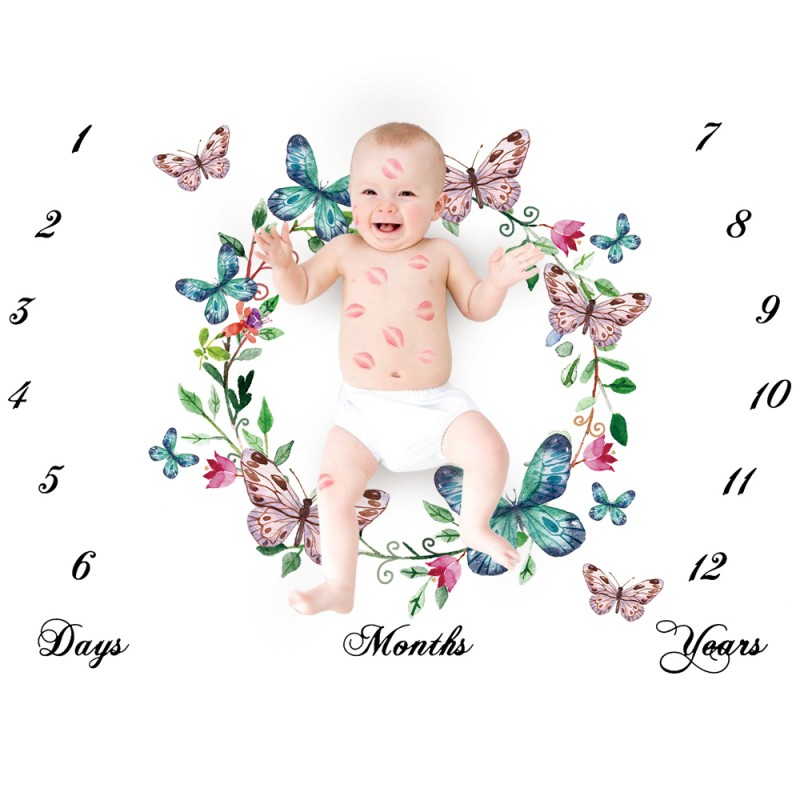 Newborns Photography Props Infant Baby Blanket Background Blanket Rug Baby Boy Girl Photo Props Photography Accessories
