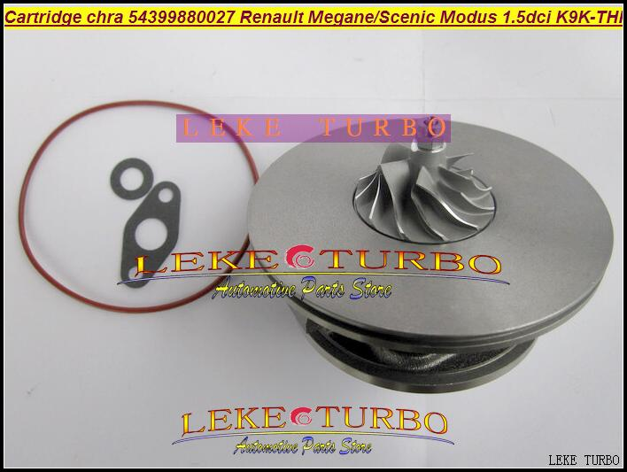 Free Ship TURBO Cartridge CHRA KP39 54399880027 54399700027 Turbocharger For Renault Kangoo Megane Scenic II Modus K9K-THP 1.5L free ship turbo cartridge chra kp35 54359880002 54359700002 for nissan micra renault clio kangoo megane 1 5l k9k704 turbocharger