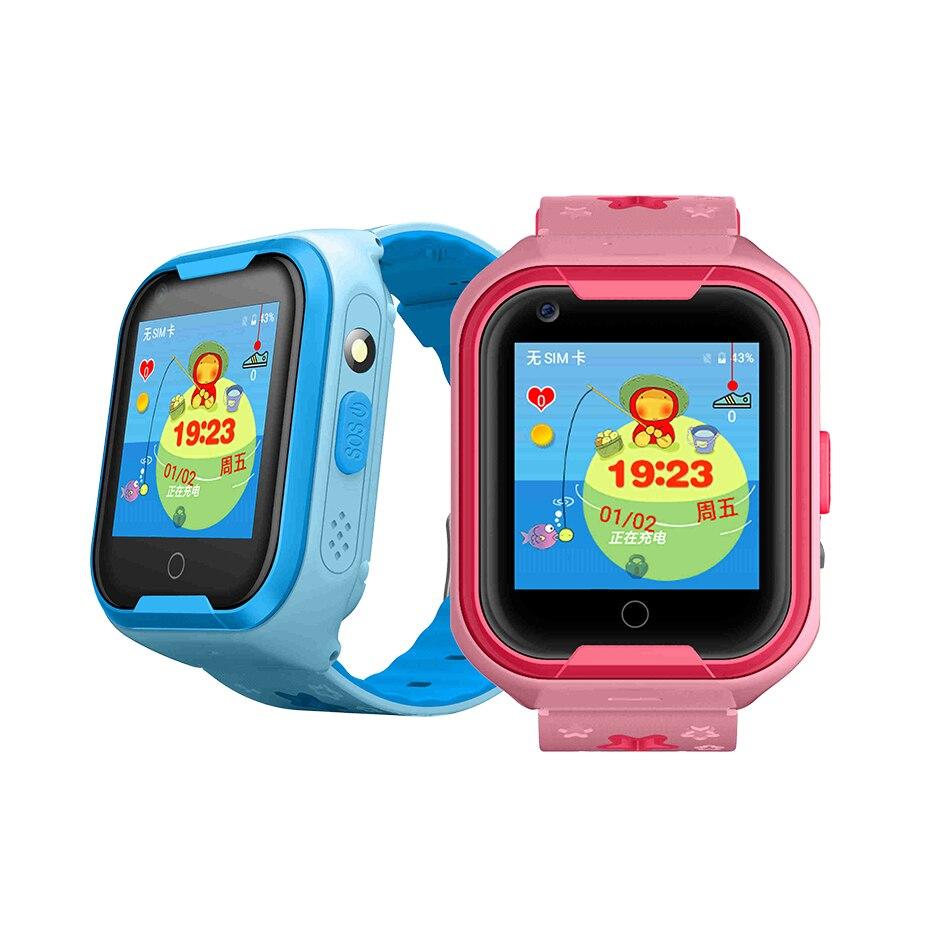For Kids Android Smart Watch 2G WIFI Waterproof GPS AGPS LBS GPRS SOS SIM 0.3MP Camera Smart Phone Watch Bracelet Smartwatch стоимость