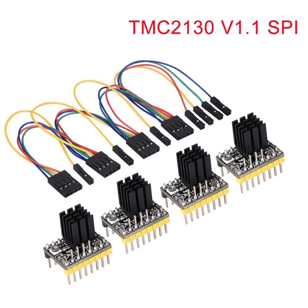 5 STÜCKE TMC2130 V1.0 Und Kühlkörper schrittmotor kompatibel mit Ramps1.4 MKS Gen V1.4 steuerkarte Mega2560 R3 3D drucker teile