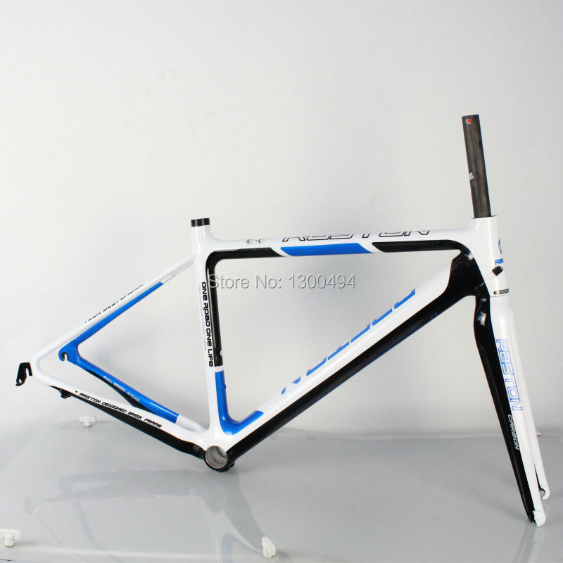 Bicycle Carbon Road Frame Model:KQ-RB106R 700C Logos Finish Fork Included Factory Outlets