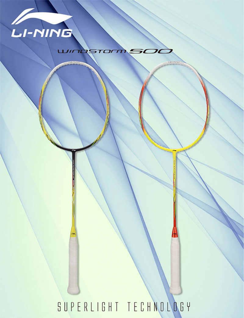 Li-Ning WINDSTORM 500 Badminton Racket Light LiNing Single Sports Rackets AYPK014