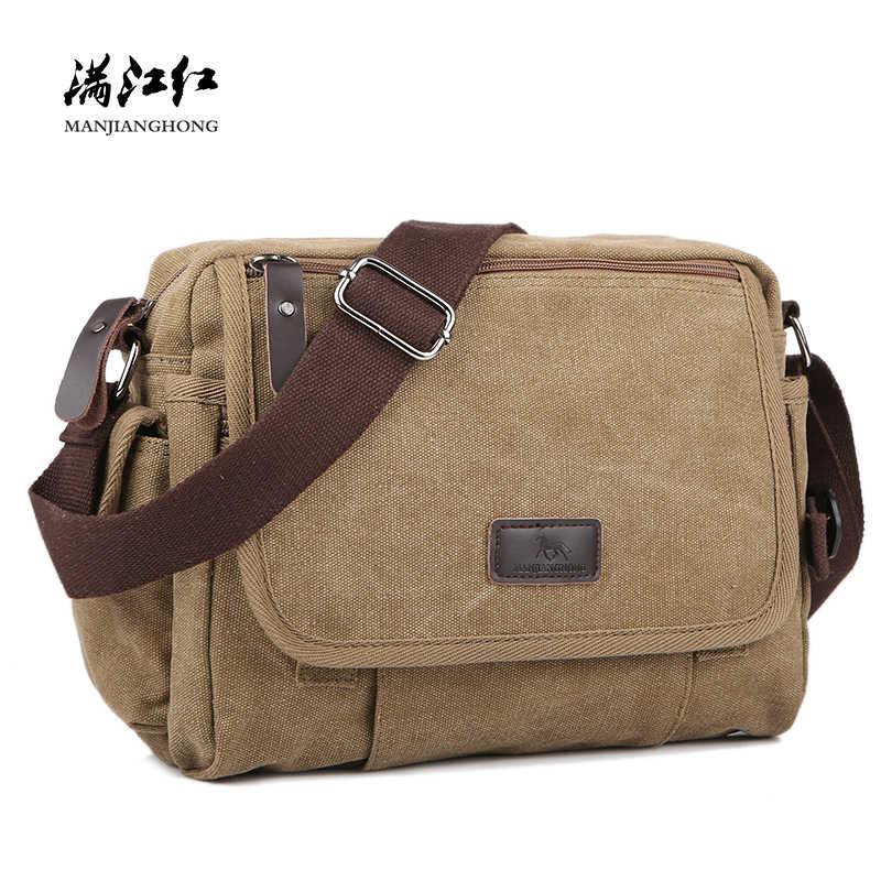 c93029bc1957 рюкзак мужской Сумки на плечо толщиной холщовый мешок высокого качества мужские  сумки через плечо модные плечо