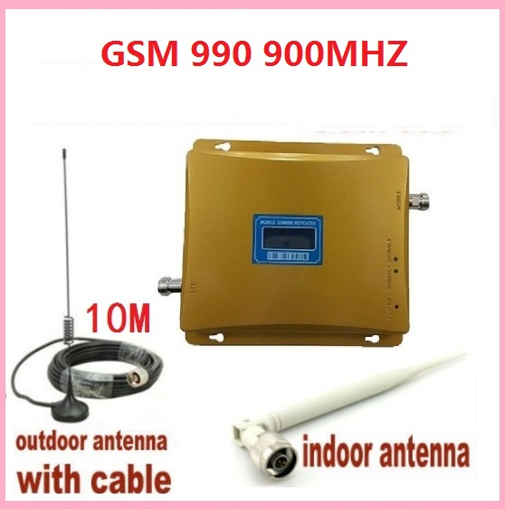 LCD Display GSM 900Mhz Mobile Phone GSM990 Signal Booster ,Cell phone Signal Repeater ,Signal Amplifier +outdoor antenna +cableLCD Display GSM 900Mhz Mobile Phone GSM990 Signal Booster ,Cell phone Signal Repeater ,Signal Amplifier +outdoor antenna +cable