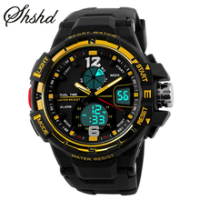 Student Sport Watches For Men Black Digital Wristwatches Rubber Watch Band Top Brand font b EL