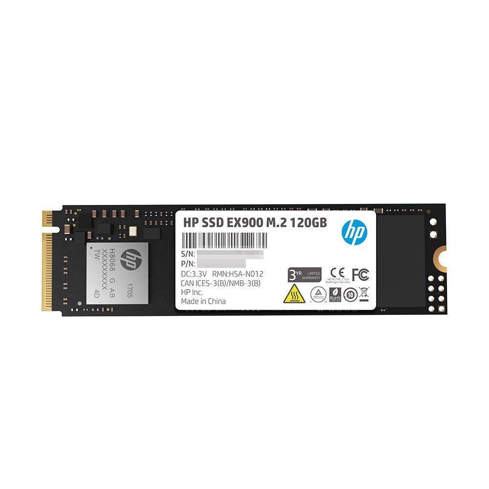 HP SSD 120GB EX900 M.2 PCIe 3.1 x 4 NVMe 3D TLC NAND HDD Internal Solid State Drive m.2 ssd for Gaming Desktop Notebook Computer (2)