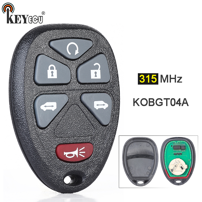2 Pack Discount Keyless Replacement Key Fob Car Remote Compatible with KOBGT04A 15114376